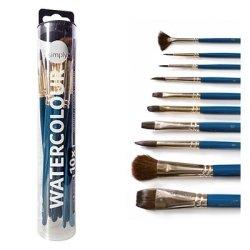 Daler Rowney Simply Watercolour Brush Set (10)