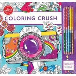 Klutz Coloring Crush Book