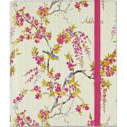 Blossoms & Bluebird Large Address Book