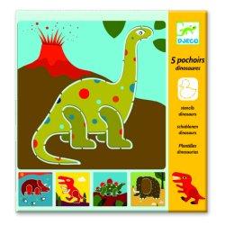 Dinosaurs Stencils by Djeco