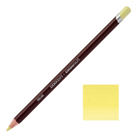 Acid Yellow Derwent Coloursoft Pencil