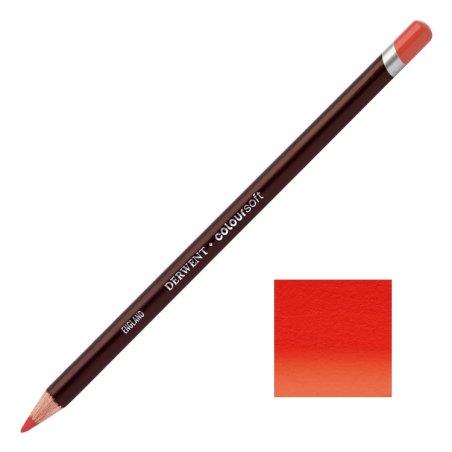 Scarlet Derwent Coloursoft Pencils