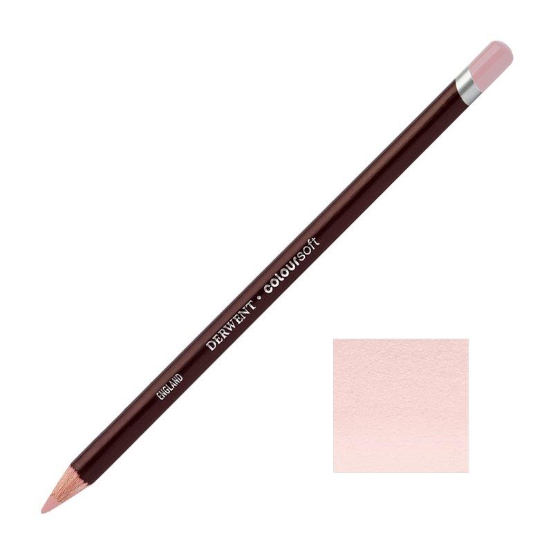 Pink Derwent Coloursoft Pencils