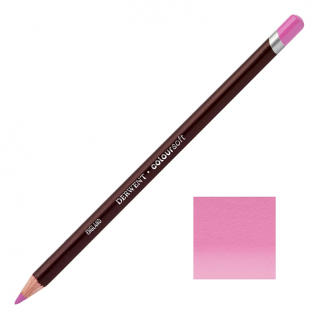 Pink Lavender Derwent Coloursoft Pencils
