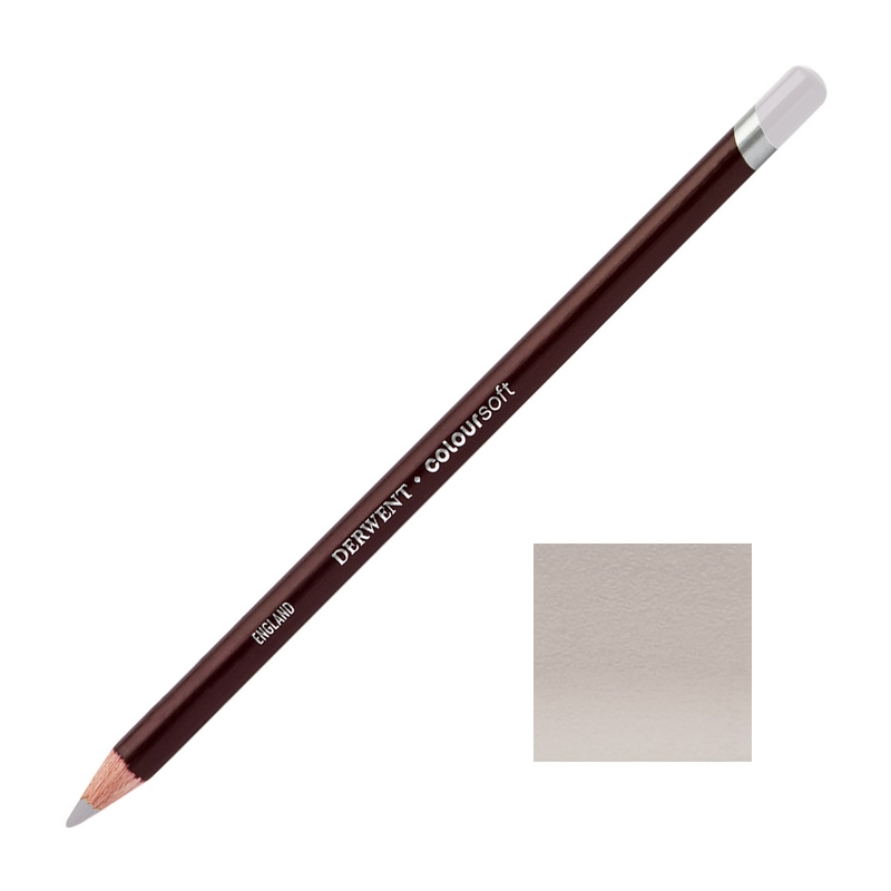 Grey Lavender Derwent Coloursoft Pencils