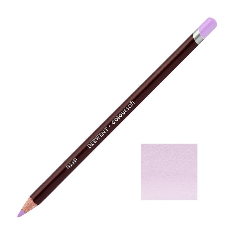 Pale Lavender Derwent Coloursoft Pencils