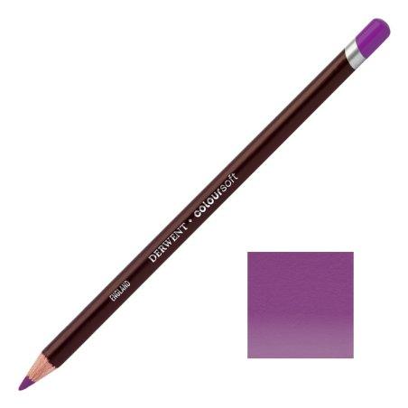 Purple Derwent Coloursoft Pencils