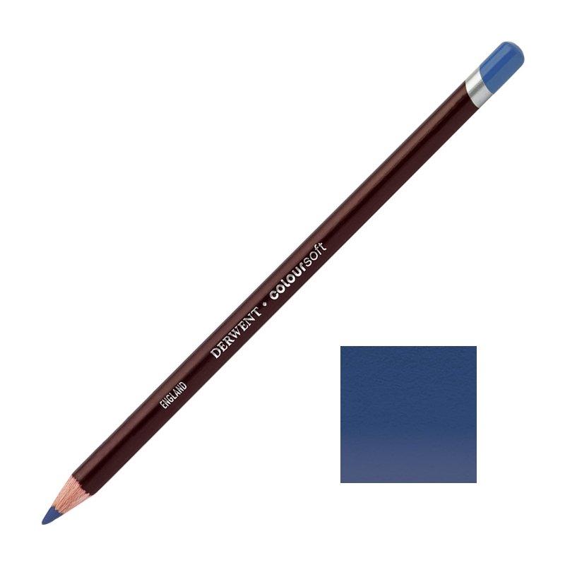 Indigo Derwent Coloursoft Pencils