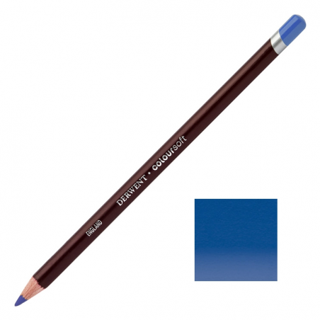 Prussian Blue Derwent Coloursoft Pencils