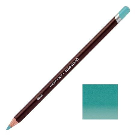Sea Green Derwent Coloursoft Pencils
