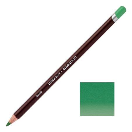 Mid Green Derwent Coloursoft Pencils