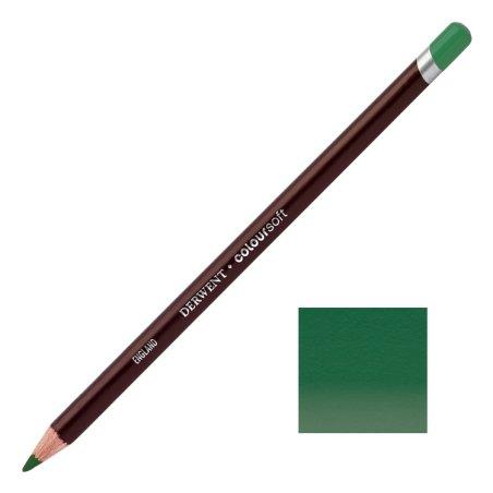 Dark Green Derwent Coloursoft Pencils