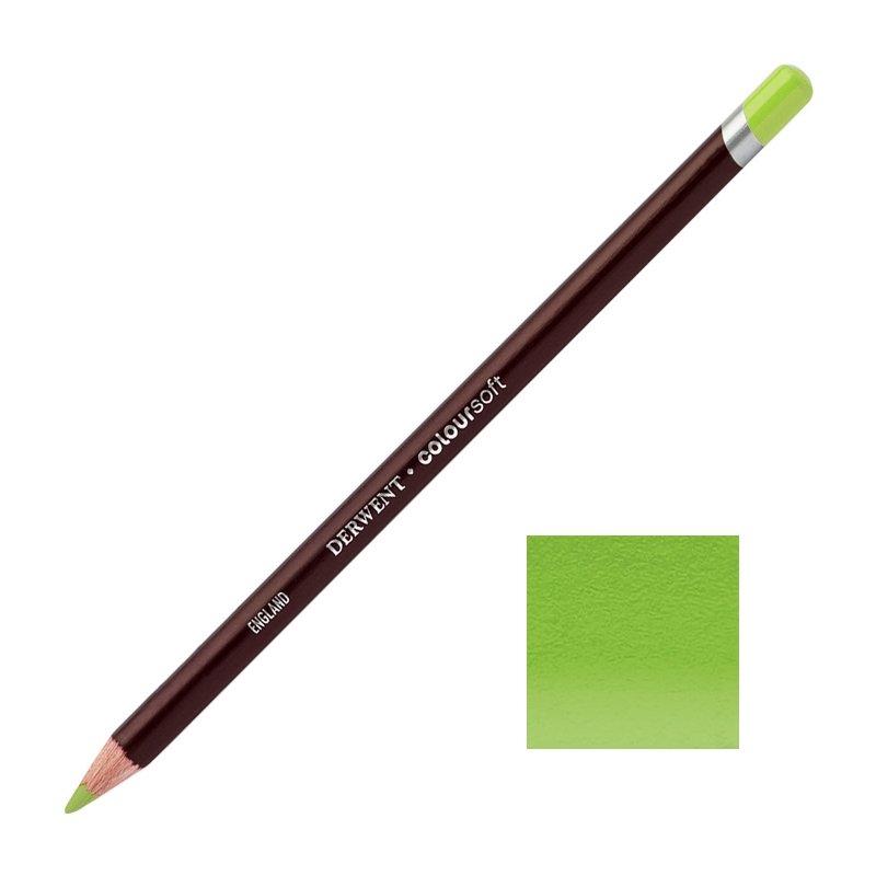 Green Derwent Coloursoft Pencils