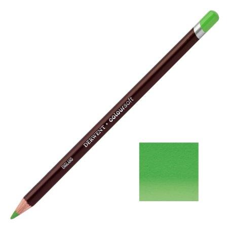Pea Green Derwent Coloursoft Pencils