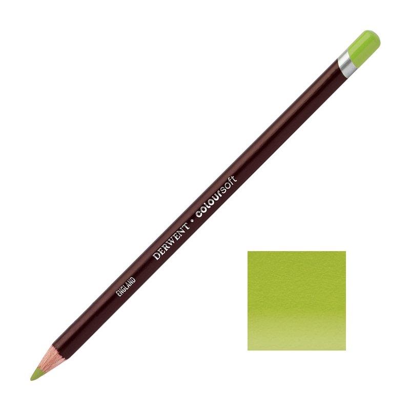 Yellow Green Derwent Coloursoft Pencils