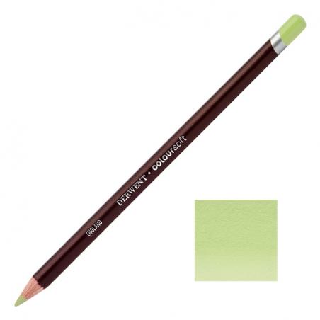 Lime Green Derwent Coloursoft Pencils