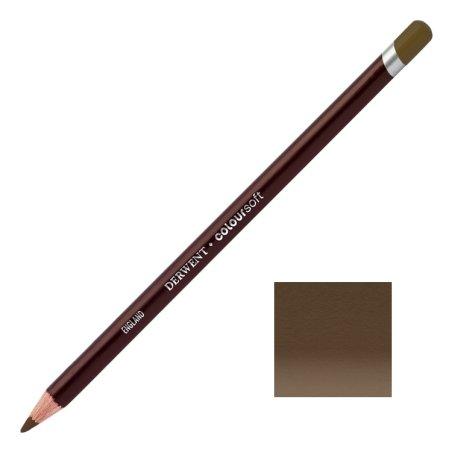 Dark Brown Derwent Coloursoft Pencils