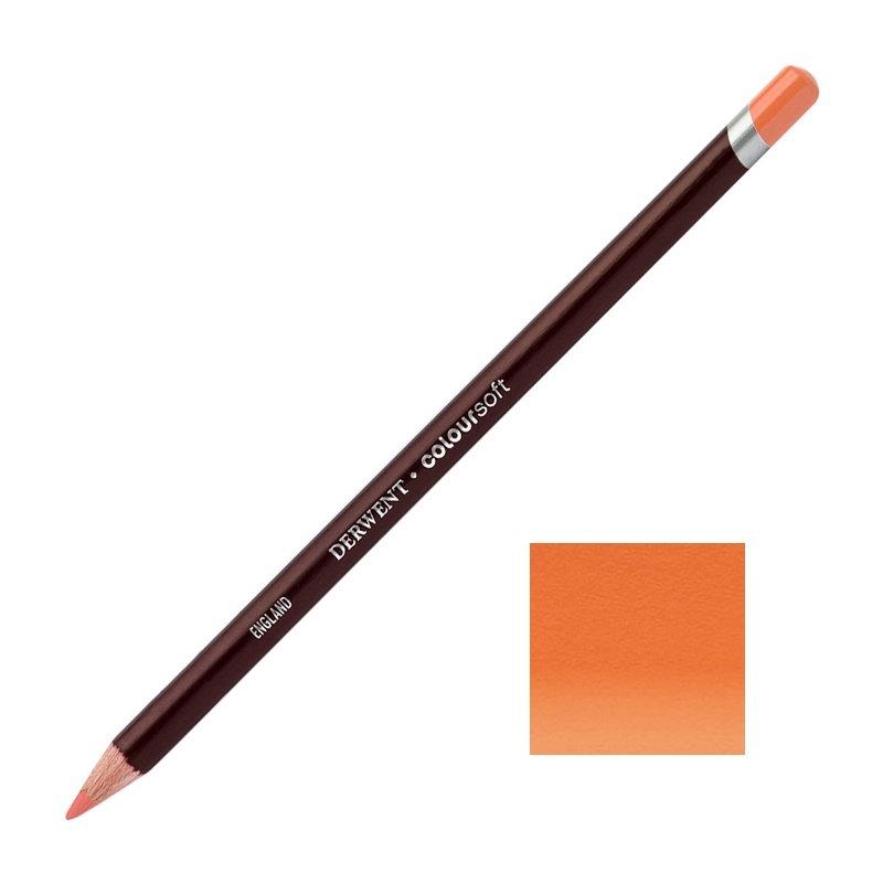 Ginger Derwent Coloursoft Pencils