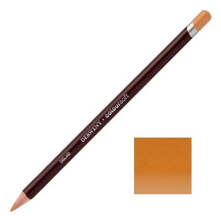 Mid Terracotta Derwent Coloursoft Pencils