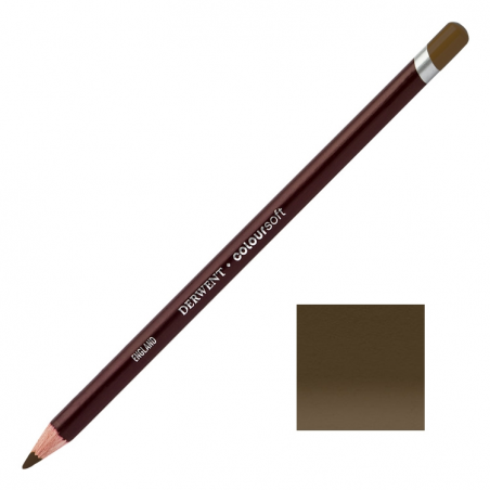 Brown Black Derwent Coloursoft Pencils