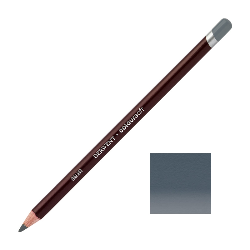 Petrol Grey Derwent Coloursoft Pencils