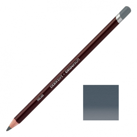 Steel Grey Derwent Coloursoft Pencils
