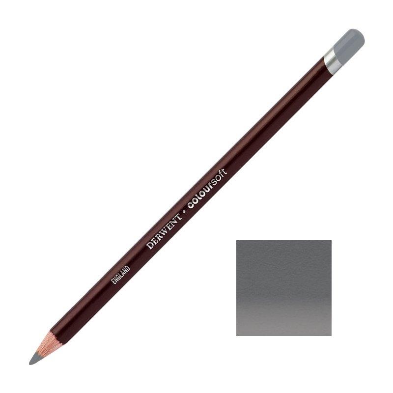 Mid Grey Derwent Coloursoft Pencils