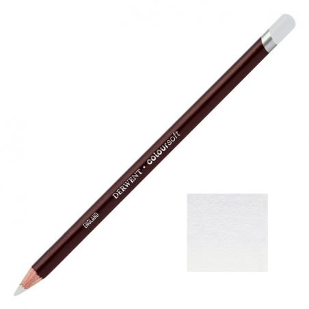 White Grey Derwent Coloursoft Pencils