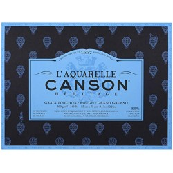 Canson Heritage Rough Block Watercolour Pad 300gsm
