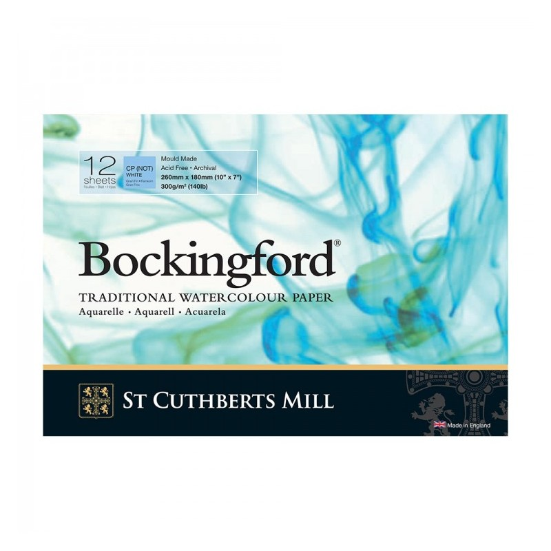 "Bockingford Glued Watercolour Pad (10"" x 7"")"
