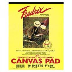 Fredrix Canvas Acrylic Primed Oil & Acrylic Pad