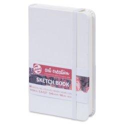 Royal Talens Art Creation White Hardback Sketchbook 9cm x 14cm
