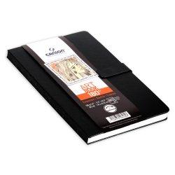 CANSON Art Book 180° - Black Casebound Sketch book 140mm x 216mm