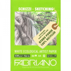 Fabriano Eco Recycled Sketch Pads 120gsm