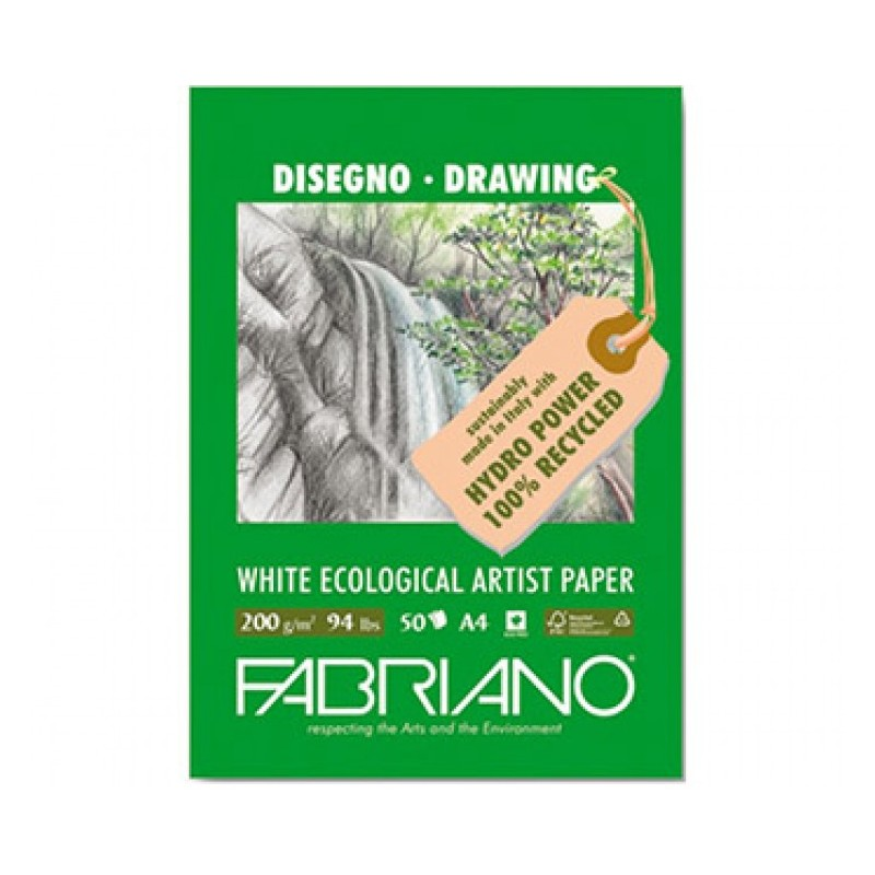 Fabriano Eco Recycled Sketch Pads 200gsm
