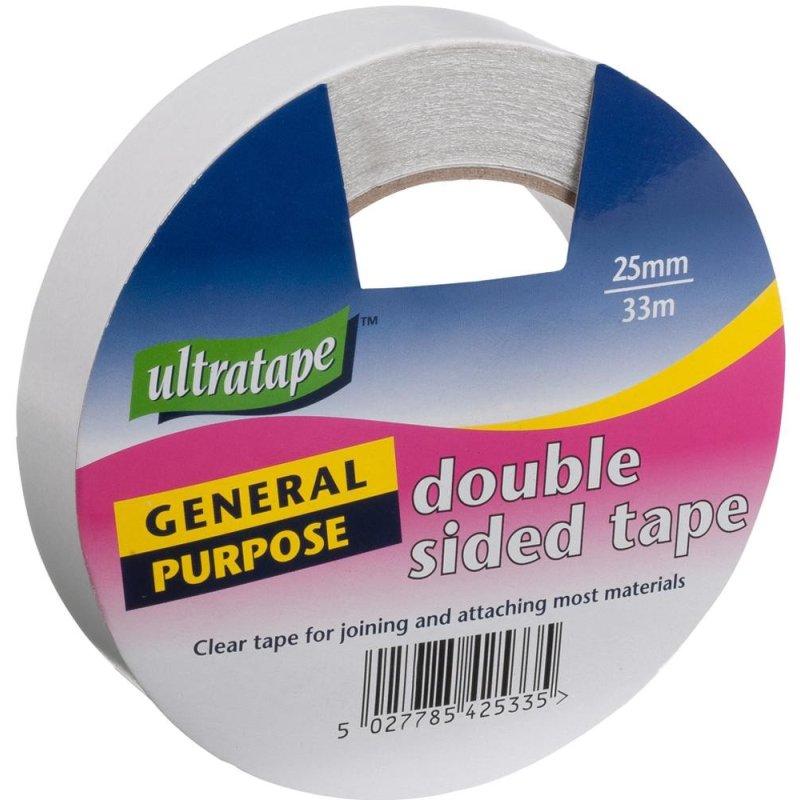 Ultratape - Double Sided Tape - 25mm x 33m