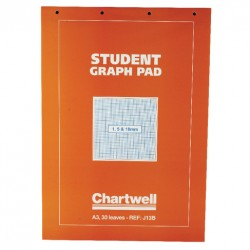 Student Graph Pad A3 30sheets 1/5/10mm 70g 4H