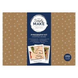 Simply Make Pyrography Kit - Chopping Board
