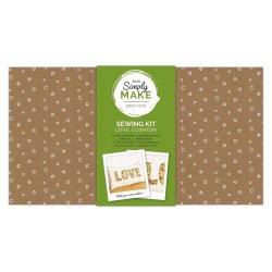 Simply Make - Love Cushion Kit
