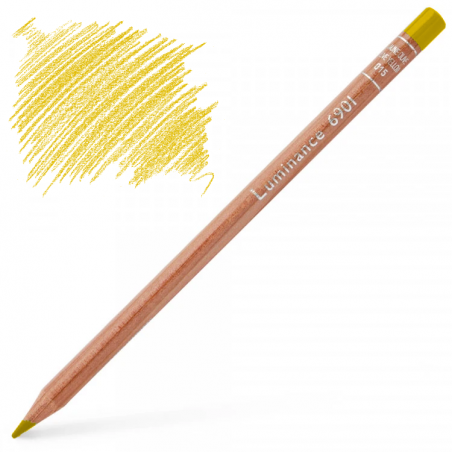 Caran d'Ache Luminance 6901 Colour Pencil - Golden Bismuth Yellow