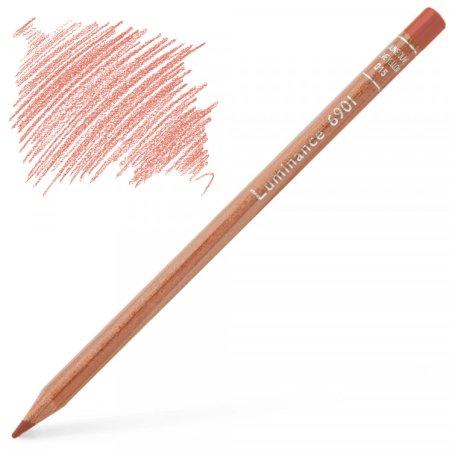 Caran d'Ache Luminance 6901 Colour Pencil - Anthraquinoid Pink