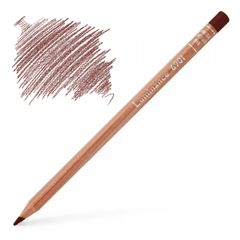 Caran d'Ache Luminance 6901 Colour Pencil - Perylene Brown