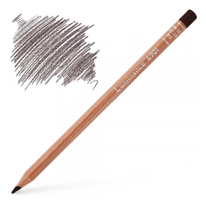 Caran d'Ache Luminance 6901 Colour Pencil - Carmine Lake