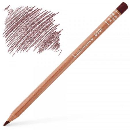 Caran d'Ache Luminance 6901 Colour Pencil - Crimson Aubergine