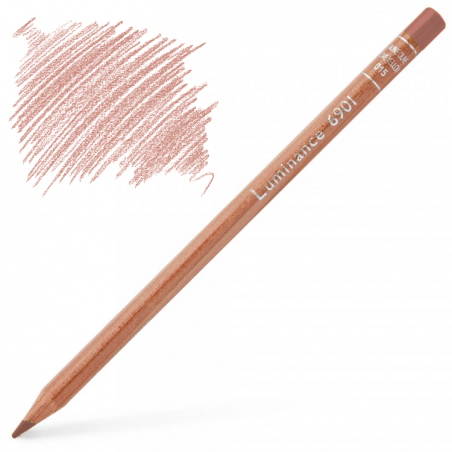 Caran d'Ache Luminance 6901 Colour Pencil - Herculanum Red