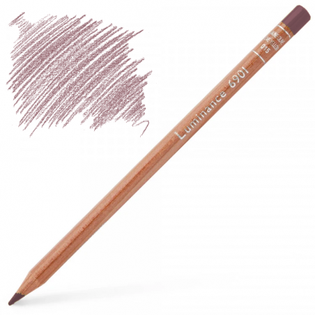 Caran d'Ache Luminance 6901 Colour Pencil - Violet Pink
