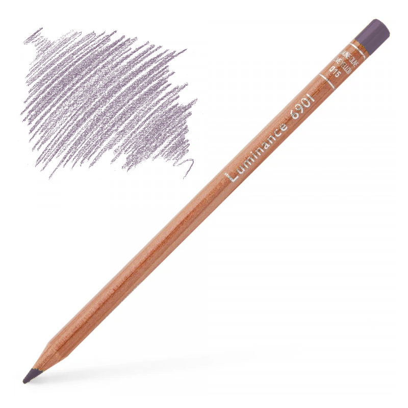 Caran d'Ache Luminance 6901 Colour Pencil - Manganese Violet