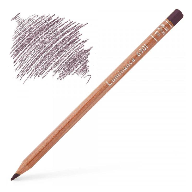 Caran d'Ache Luminance 6901 Colour Pencil - Light Aubergine