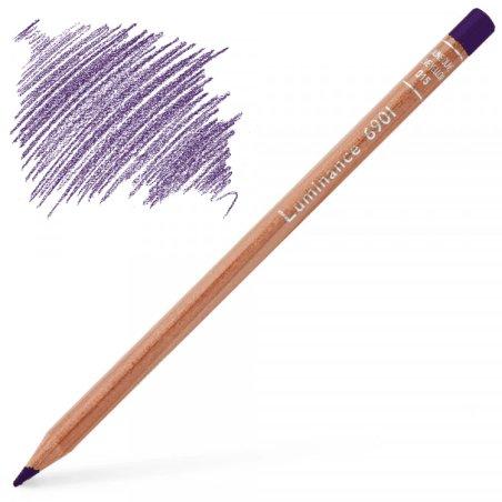 Caran d'Ache Luminance 6901 Colour Pencil - Violet