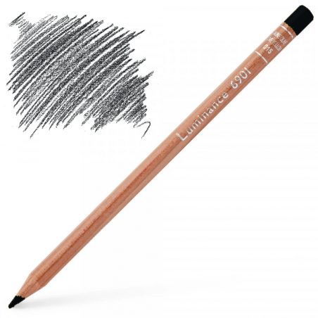 Caran d'Ache Luminance 6901 Colour Pencil - Dark Indigo